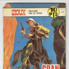 Tebeos: SIOUX Nº 143 - GRAN JEFE - TORAY 1969. Lote 276992498