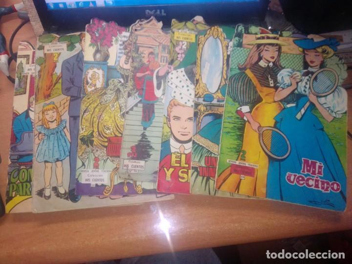 LOTE DE 7 NUMEROS COLECCION MIS CUENTOS TROQUELADOS (Tebeos y Comics - Toray - Otros)
