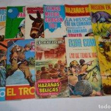 Tebeos: 11 EJEMPLARES/COMICS / HAZAÑAS BÉLICAS Y OTROS - EDITORIAL TORAY Y OTRAS - ¡MIRA! LOTE 01. Lote 277078878