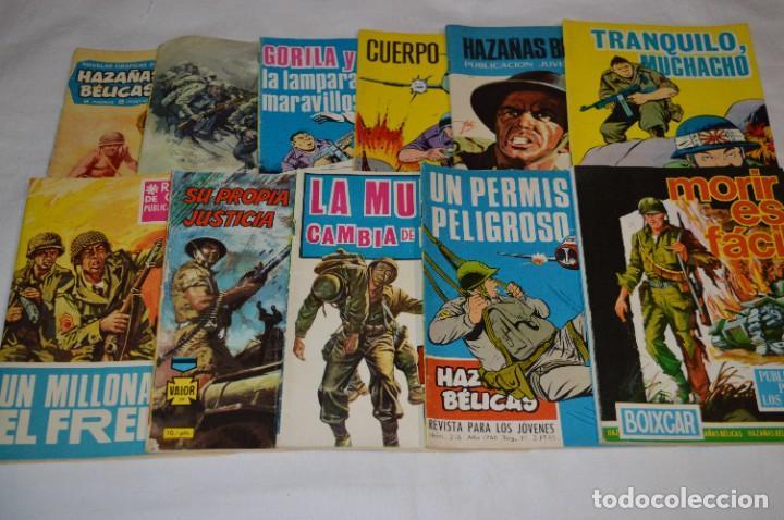 11 EJEMPLARES/COMICS / HAZAÑAS BÉLICAS Y OTROS - EDITORIAL TORAY Y OTRAS - ¡MIRA! LOTE 02 (Tebeos y Comics - Toray - Hazañas Bélicas)