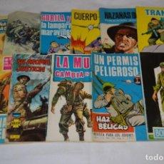 Tebeos: 11 EJEMPLARES/COMICS / HAZAÑAS BÉLICAS Y OTROS - EDITORIAL TORAY Y OTRAS - ¡MIRA! LOTE 02. Lote 277080493