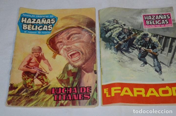 Tebeos: 11 Ejemplares/Comics / HAZAÑAS BÉLICAS y otros - Editorial TORAY y otras - ¡MIRA! Lote 02 - Foto 2 - 277080493