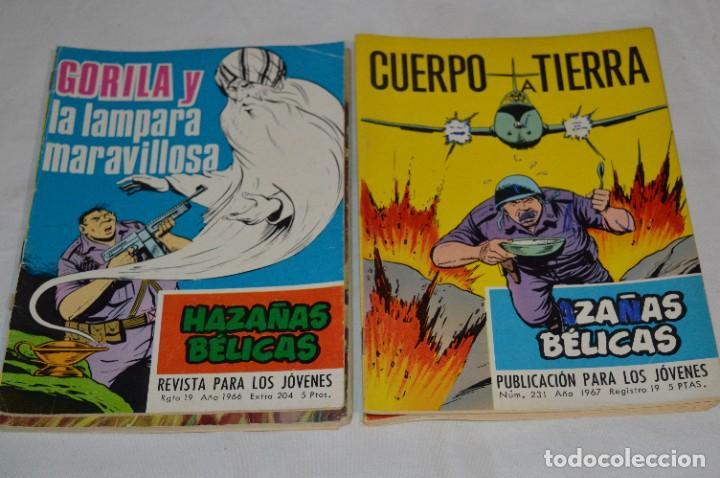 Tebeos: 11 Ejemplares/Comics / HAZAÑAS BÉLICAS y otros - Editorial TORAY y otras - ¡MIRA! Lote 02 - Foto 3 - 277080493