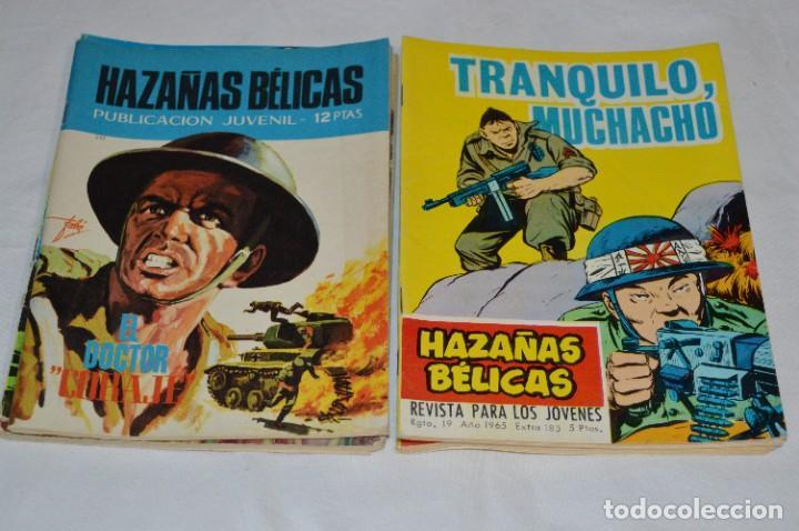 Tebeos: 11 Ejemplares/Comics / HAZAÑAS BÉLICAS y otros - Editorial TORAY y otras - ¡MIRA! Lote 02 - Foto 4 - 277080493