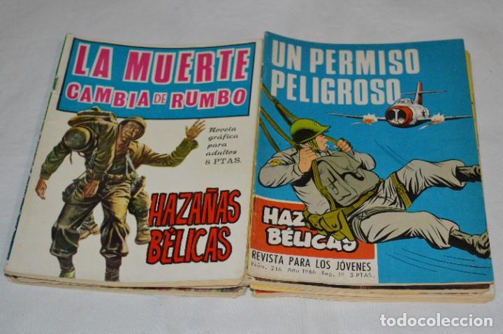 Tebeos: 11 Ejemplares/Comics / HAZAÑAS BÉLICAS y otros - Editorial TORAY y otras - ¡MIRA! Lote 02 - Foto 6 - 277080493