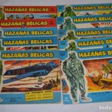 Tebeos: 10 EJEMPLARES/COMICS VARIADOS / HAZAÑAS BÉLICAS - EDITORIAL TORAY - ¡MIRA FOTOS! LOTE 01. Lote 277082723