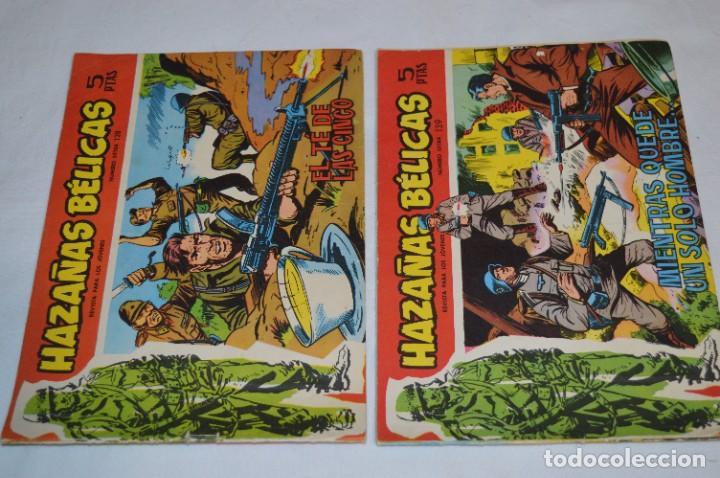 Tebeos: 10 Ejemplares/Comics variados / HAZAÑAS BÉLICAS - Editorial TORAY - ¡MIRA FOTOS! Lote 01 - Foto 2 - 277082723