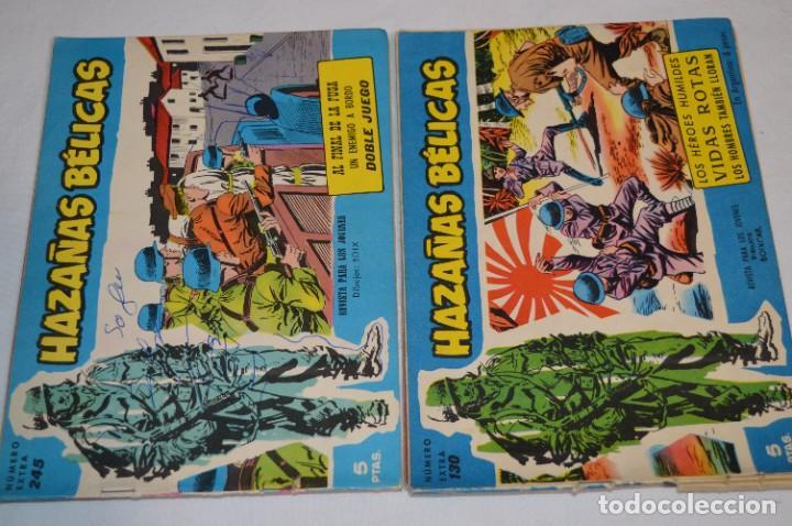 Tebeos: 10 Ejemplares/Comics variados / HAZAÑAS BÉLICAS - Editorial TORAY - ¡MIRA FOTOS! Lote 01 - Foto 3 - 277082723