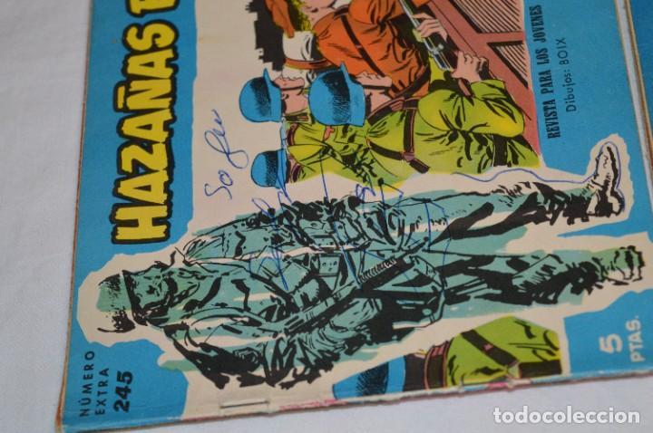 Tebeos: 10 Ejemplares/Comics variados / HAZAÑAS BÉLICAS - Editorial TORAY - ¡MIRA FOTOS! Lote 01 - Foto 4 - 277082723