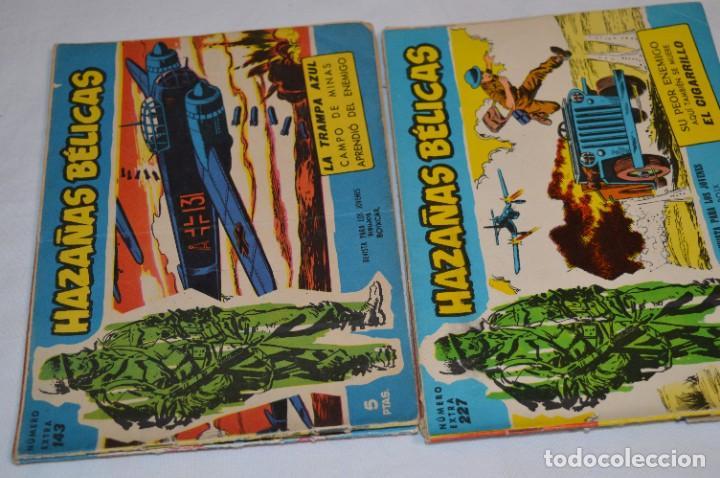 Tebeos: 10 Ejemplares/Comics variados / HAZAÑAS BÉLICAS - Editorial TORAY - ¡MIRA FOTOS! Lote 01 - Foto 5 - 277082723