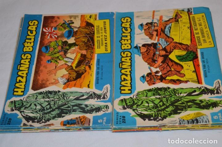 Tebeos: 10 Ejemplares/Comics variados / HAZAÑAS BÉLICAS - Editorial TORAY - ¡MIRA FOTOS! Lote 01 - Foto 7 - 277082723