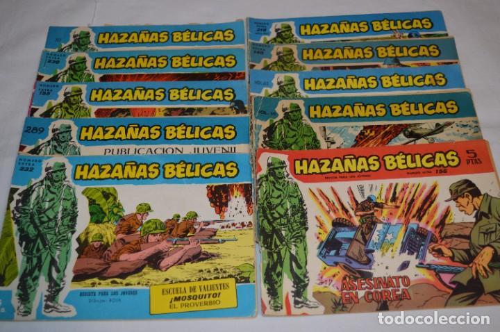 10 EJEMPLARES/COMICS VARIADOS / HAZAÑAS BÉLICAS - EDITORIAL TORAY - ¡MIRA FOTOS! LOTE 02 (Tebeos y Comics - Toray - Hazañas Bélicas)