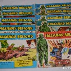 Tebeos: 10 EJEMPLARES/COMICS VARIADOS / HAZAÑAS BÉLICAS - EDITORIAL TORAY - ¡MIRA FOTOS! LOTE 02. Lote 277083538