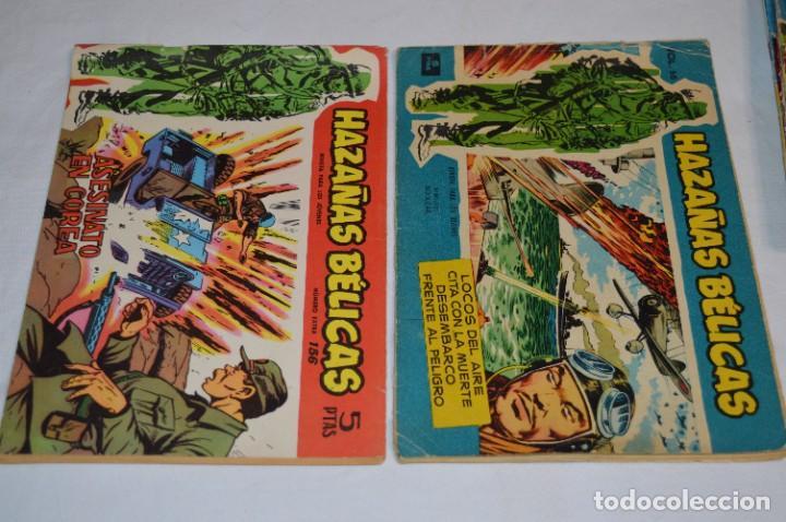 Tebeos: 10 Ejemplares/Comics variados / HAZAÑAS BÉLICAS - Editorial TORAY - ¡MIRA FOTOS! Lote 02 - Foto 2 - 277083538