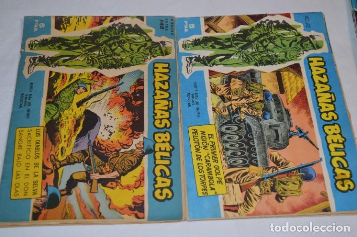 Tebeos: 10 Ejemplares/Comics variados / HAZAÑAS BÉLICAS - Editorial TORAY - ¡MIRA FOTOS! Lote 02 - Foto 3 - 277083538