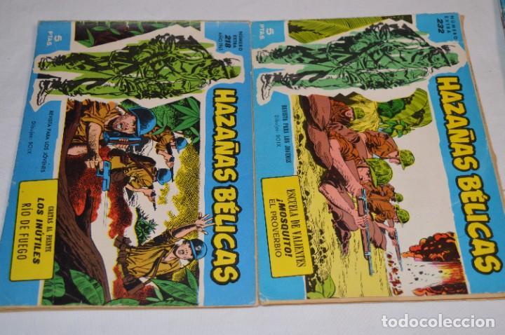 Tebeos: 10 Ejemplares/Comics variados / HAZAÑAS BÉLICAS - Editorial TORAY - ¡MIRA FOTOS! Lote 02 - Foto 4 - 277083538