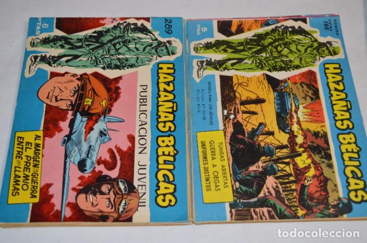 Tebeos: 10 Ejemplares/Comics variados / HAZAÑAS BÉLICAS - Editorial TORAY - ¡MIRA FOTOS! Lote 02 - Foto 5 - 277083538