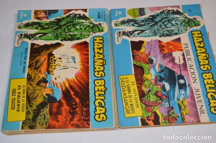 Tebeos: 10 Ejemplares/Comics variados / HAZAÑAS BÉLICAS - Editorial TORAY - ¡MIRA FOTOS! Lote 02 - Foto 6 - 277083538