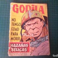 Giornalini: HAZAÑAS BELICAS (GORILA ). N°163. TORAY. CASTIGADO.. Lote 277258808