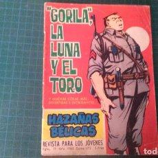 Livros de Banda Desenhada: HAZAÑAS BELICAS (GORILA ). N°175. TORAY. CON SEÑALES DE USO.. Lote 277258968