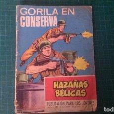 Livros de Banda Desenhada: HAZAÑAS BELICAS (GORILA ). N°285. TORAY. CON SEÑALES DE USO.. Lote 277259188