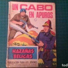 Livros de Banda Desenhada: HAZAÑAS BELICAS (GORILA ). N°289. TORAY. CON SEÑALES DE USO.. Lote 277259258