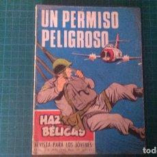 Livros de Banda Desenhada: HAZAÑAS BELICAS (GORILA ). N°216. TORAY. CON SEÑALES DE USO.. Lote 277259383