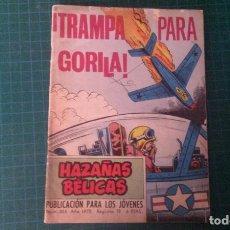 Livros de Banda Desenhada: HAZAÑAS BELICAS (GORILA ). N°305. TORAY. CON SEÑALES DE USO.. Lote 277259463