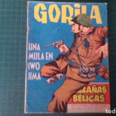 Livros de Banda Desenhada: HAZAÑAS BELICAS (GORILA ). N°162. TORAY. CON SEÑALES DE USO.. Lote 277259613