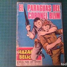 Livros de Banda Desenhada: HAZAÑAS BELICAS (GORILA ). N°186. TORAY. CON SEÑALES DE USO.. Lote 277260058