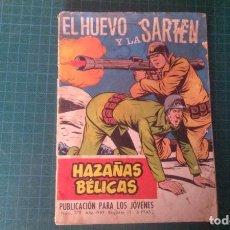 Livros de Banda Desenhada: HAZAÑAS BELICAS (GORILA ). N°279. TORAY. CON SEÑALES DE USO.. Lote 277260113