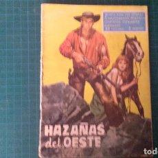 Tebeos: HAZAÑAS DEL OESTE. N°18. TORAY. CON SEÑALES DE USO.. Lote 277261098