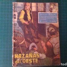 Tebeos: HAZAÑAS DEL OESTE. N°19. TORAY. CON SEÑALES DE USO.. Lote 277261273