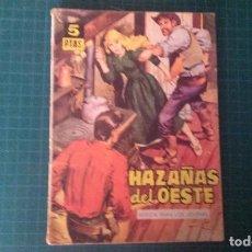 Tebeos: HAZAÑAS DEL OESTE. N°53. TORAY. CON SEÑALES DE USO.. Lote 277261503