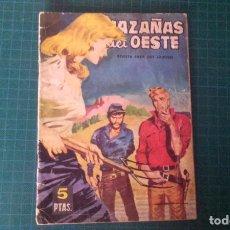 Tebeos: HAZAÑAS DEL OESTE. N°70. TORAY. CON SEÑALES DE USO.. Lote 277261578