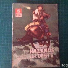 Tebeos: HAZAÑAS DEL OESTE. N°59. TORAY. CON SEÑALES DE USO.. Lote 277261648