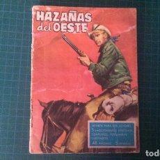 Tebeos: HAZAÑAS DEL OESTE. N°21. TORAY. CON SEÑALES DE USO.. Lote 277261808