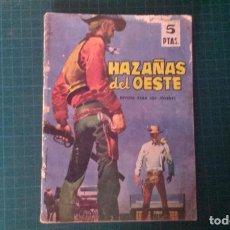 Tebeos: HAZAÑAS DEL OESTE. N°69. TORAY. CON SEÑALES DE USO.. Lote 277261943