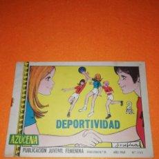 Tebeos: AZUCENA. Nº 1103. DEPORTIVIDAD.EDICIONES TORAY .1969.. Lote 277568033