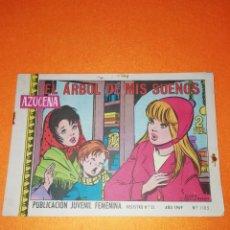 Tebeos: AZUCENA. Nº 1105. EL ARBOL DE MIS SUEÑOS .EDICIONES TORAY .1969.. Lote 277568693