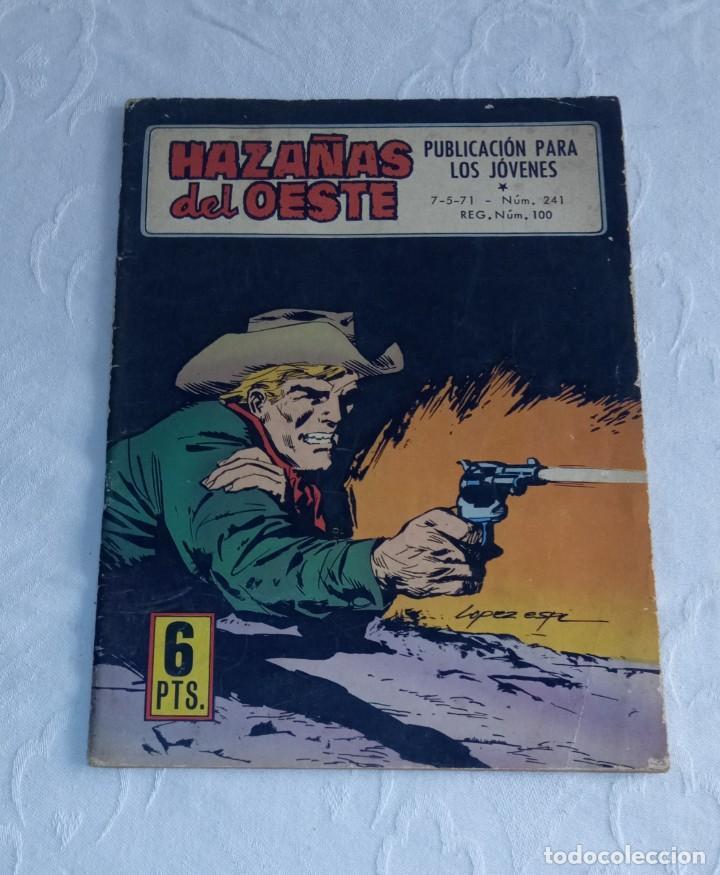 HAZAÑAS DEL OESTE. PUBLICACIÓN PARA LOS JÓVENES. NÚM. 241. 7-5-71. (Tebeos y Comics - Toray - Hazañas del Oeste)