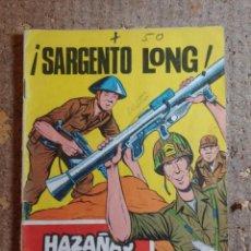 Tebeos: COMIC DE HAZAÑAS BELICAS EN SARGENTO LONG DEL AÑO 1970 Nº 290. Lote 278366998