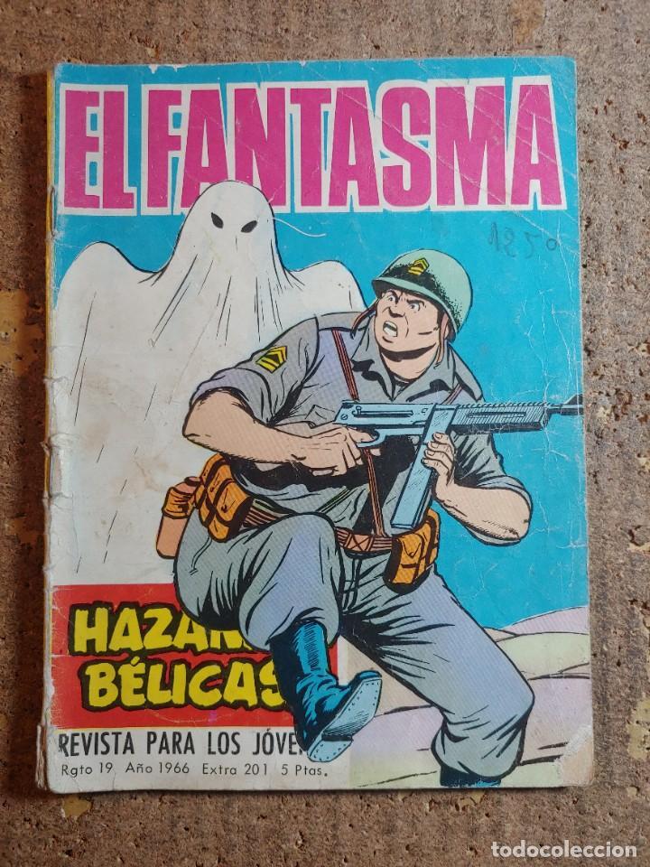 COMIC DE HAZAÑAS BELICAS EN EL FANTASMA DEL AÑO 1966 Nº 201 (Tebeos y Comics - Toray - Hazañas Bélicas)