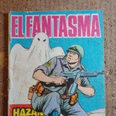 Tebeos: COMIC DE HAZAÑAS BELICAS EN EL FANTASMA DEL AÑO 1966 Nº 201. Lote 278367113