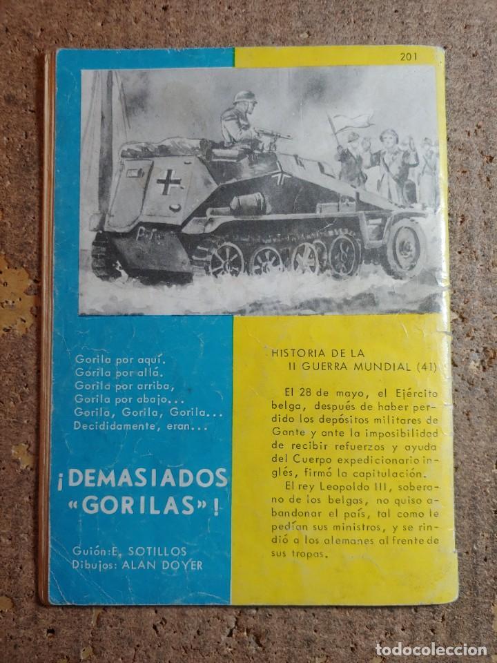 Tebeos: COMIC DE HAZAÑAS BELICAS EN EL FANTASMA DEL AÑO 1966 Nº 201 - Foto 2 - 278367113