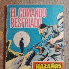 Tebeos: COMIC DE HAZAÑAS BELICAS EN EL COMANDO RESFRIADO DEL AÑO 1965 Nº 180. Lote 278367253