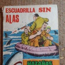 Tebeos: COMIC DE HAZAÑAS BELICAS EN ESCUDRILLA SIN ALAS DEL AÑO 1971 Nº 318. Lote 278367368