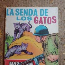 Tebeos: COMIC DE HAZAÑAS BELICAS EN LA SEBDA DE LOS GATOS DEL AÑO 1969 Nº 281. Lote 278367558