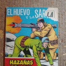 Tebeos: COMIC DE HAZAÑAS BELICAS EN EL HUEVO Y LA SARTEN DEL AÑO 1969 Nº 279. Lote 278368008