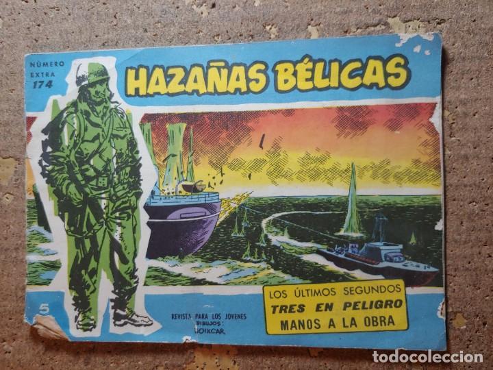 COMIC DE HAZAÑAS BELICAS EN LOS ULTIMOS SEGUNDOS Nº 174 (Tebeos y Comics - Toray - Hazañas Bélicas)